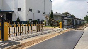 barie tự động hàng rào