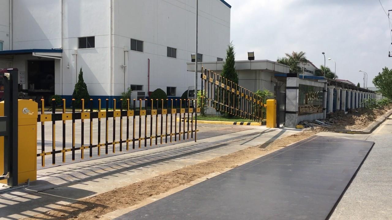 thanh barrier dạng rào chắn tự động