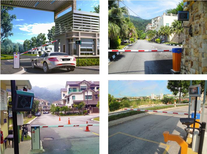Các công trình barrier tự động PTH Vina thi công cho khu du lịch, khu sinh thái