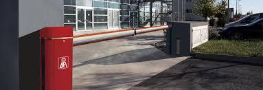 Barrier tự động thông minh cho tầng hầm khu chung cư, vincom
