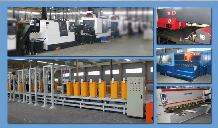 Quy trình sản xuất các thương hiệu barrier tự động