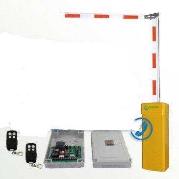 Barrier tự động cần gập và các thiết bị kèm theo