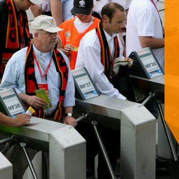 Cổng soát vé tham dự sự kiện