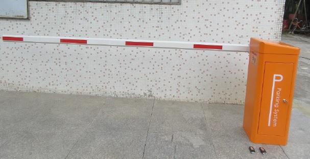 lắp đặt barrier tự động servo