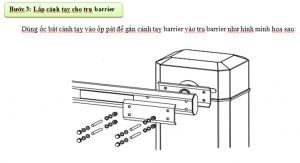 lắp đặt thanh nhôm barrier