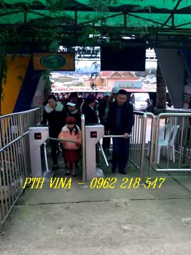 hệ thống soát vé khu du lịch