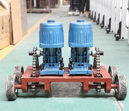 cấu tạo motor cổng xếp innox PT-073