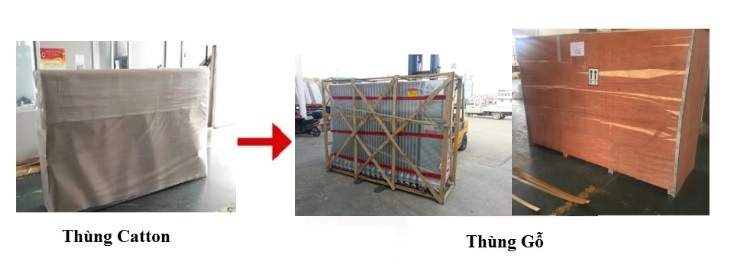 phương thức vận chuyển hàng hóa cổng xếp innox PT-030