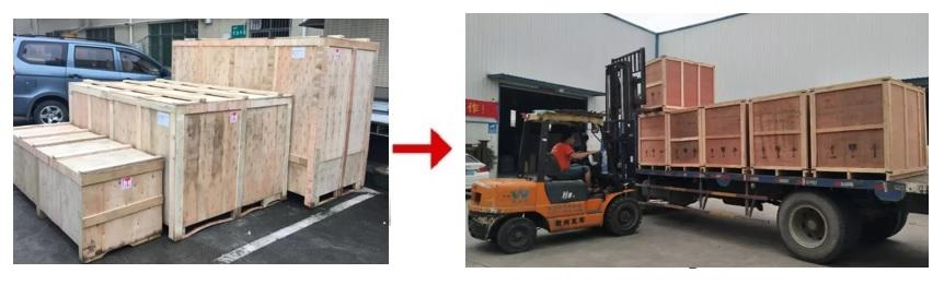 phương thức vận chuyển hàng hóa cổng xếp innox PT-46