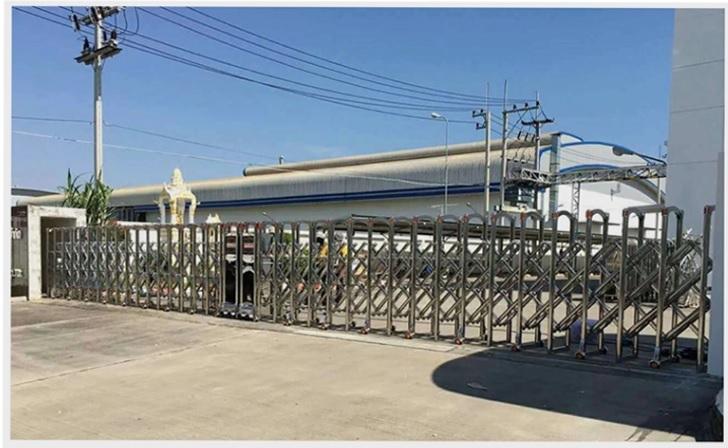 ứng dụng của cổng xếp innox PT-J1717