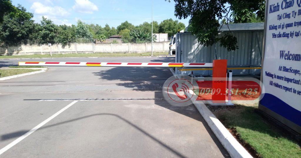 Hệ thống barie cảm biến an toàn cho đường tàu
