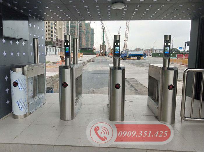 Hệ thống cổng flap barrier khu vui chơi