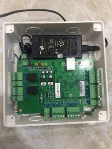 bộ controler kết nối thiết bị bãi xe thông minh