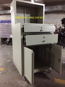 tủ đựng thiết bị cho hệ thống giữ xe thông minh