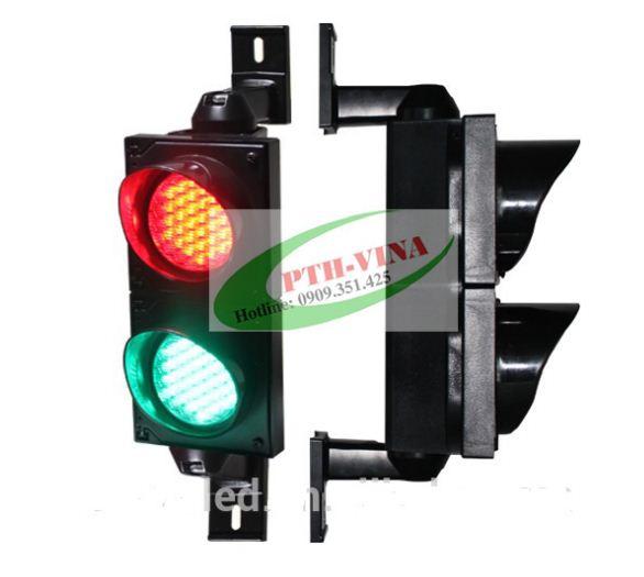 đèn tháp giao thông xanh đỏ