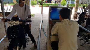 bãi giữ xe thông minh tại khu trường học thành phố Hồ Chí Minh