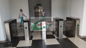 cổng xoay tripod chuyên dùng khu công nghiệp