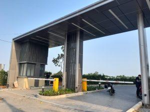 Lắp đặt barie tự động tại Mizuki Park - Bình Chánh